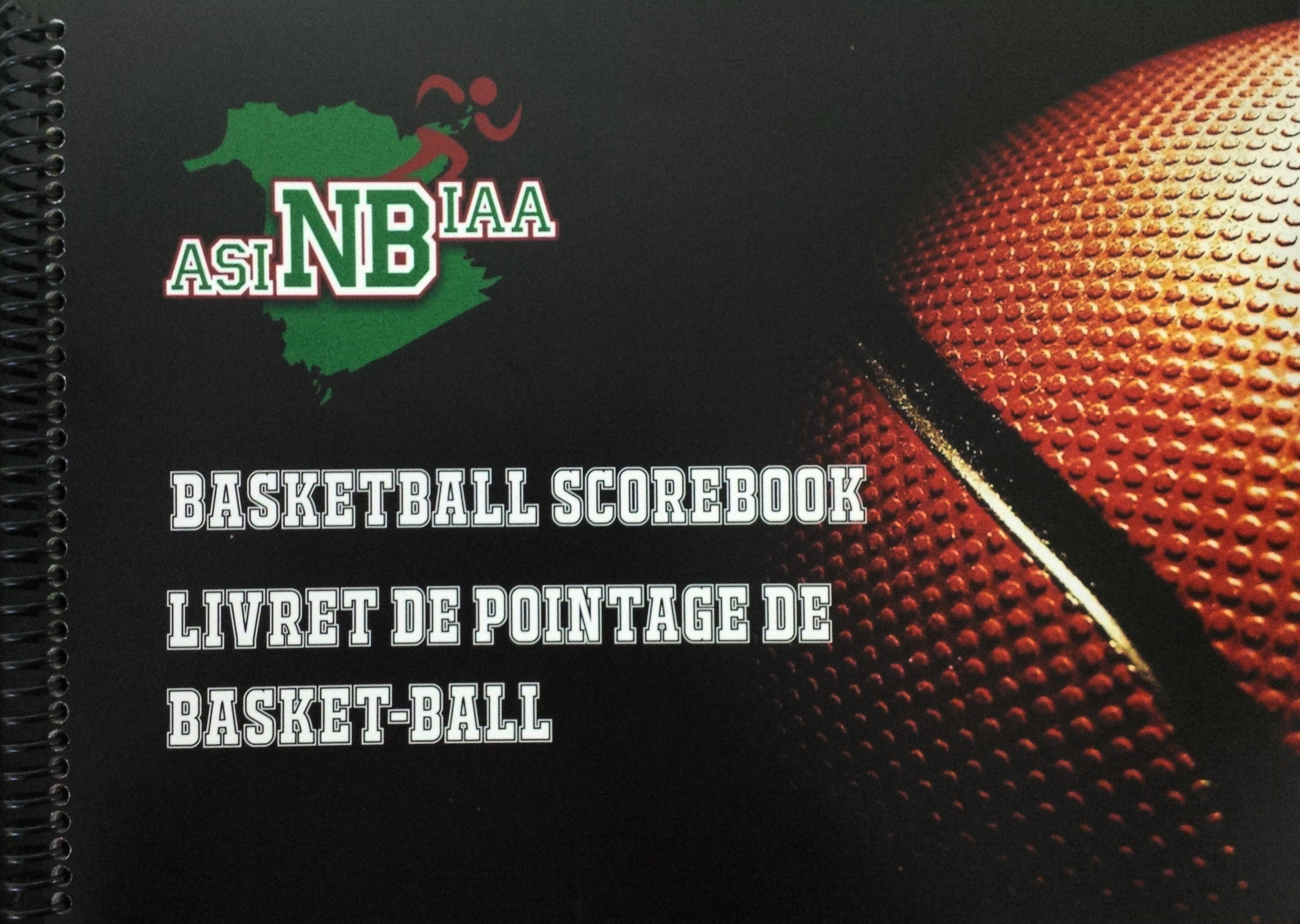 Basketball score book