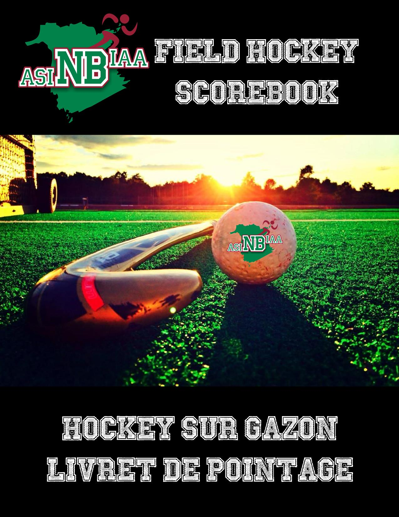 Field Hockey Scorebook Cover
